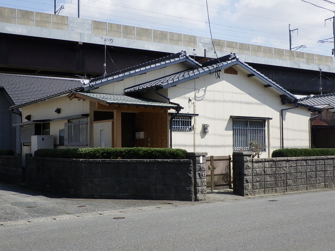 昔ながらの日本家屋が...